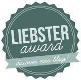 Liebster award 8.20.13