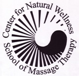 Center of Natural Wellness School of Massage Therapy Logo Update