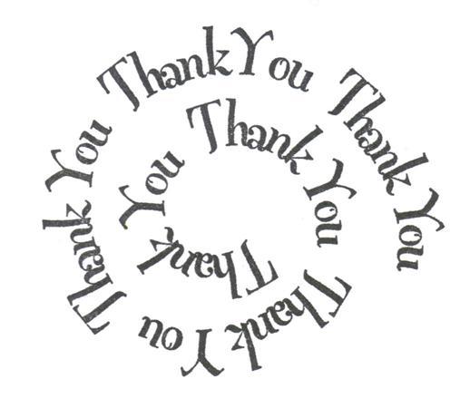 thankyou spiral