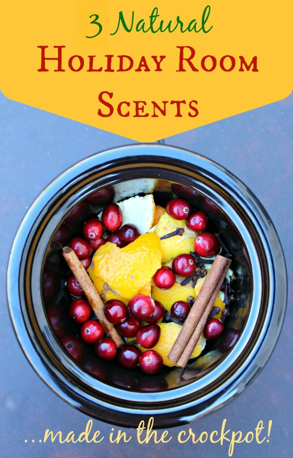3 natural holiday room scents