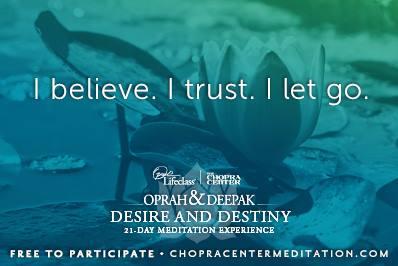 i believe i trust i let go