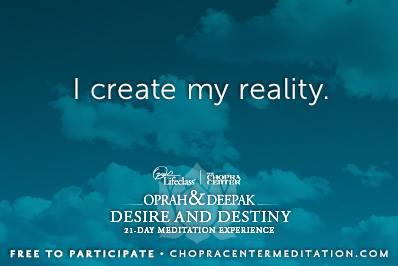 i make my reality