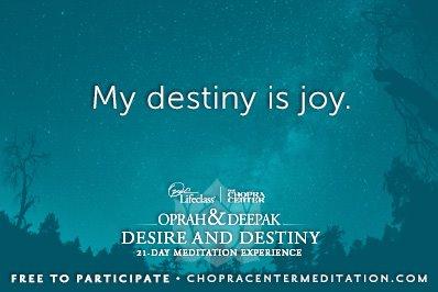 my destiny is joy
