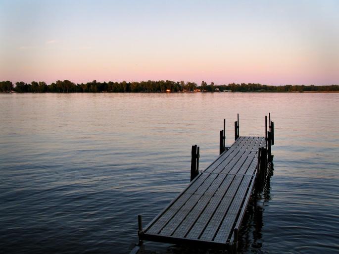 creative common lake dock