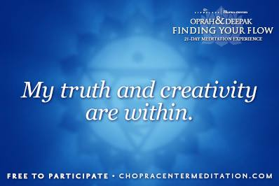 my truth and creativity are within
